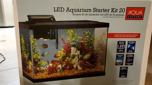 LED Aquarium starter kit 10-20 gallon tank for Sale in Heath, TX