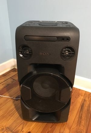 Sony , home audio system MHC-v11, Bluetooth for Sale in Washington, DC