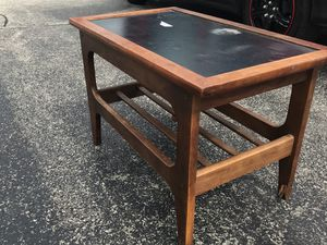 Mid century modern, small cocktail table stereo or electronics console for Sale in Chicago, IL