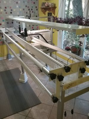 Huskavarna Mega Quilter machine with free quilt frame. for Sale in Peachtree Corners, GA