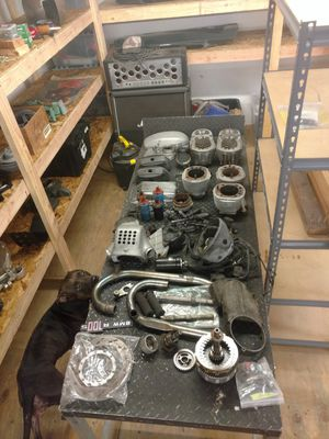 BMW r100 motorcycle airhead parts lot for Sale in Torrance, CA