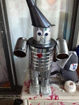 Hand made tin man for Sale in Zephyrhills, FL