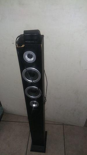 Bluetooth tower audio system for Sale in SAN BERNARDINO, CA