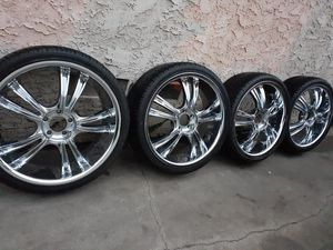 Tires Size 225/35ZR20 Brand New Tires & Rims $350 for Sale in Hawthorne, CA