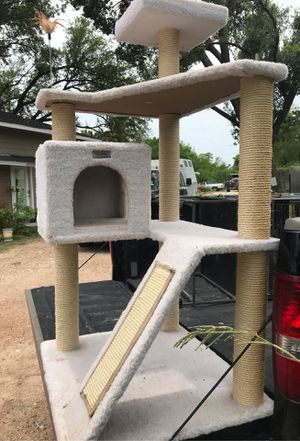 Cat tower $30 firm for Sale in Houston, TX