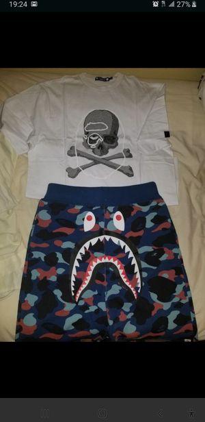 Bape×mastermind and Bape shorts Medium for Sale in Houston, TX