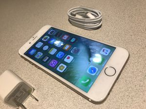Apple iPhone 6 64gb White Silver T-Mobile Metro PCS Simple Mobile Lyca Mobile Cricket Verizon H2O Screen/Glass is Brand New UNLOCKED DESBLOQUEADO for Sale in Bronx, NY
