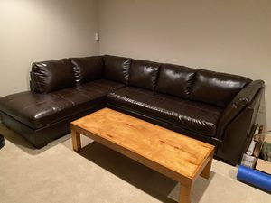 Leather Couch for Sale in Pennsburg, PA