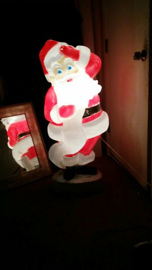 Plastic large Santa for Sale in Detroit, MI