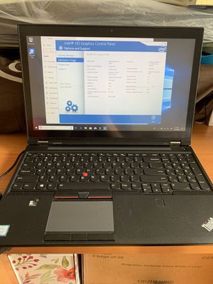 Lenovo thinkpad p50 with 64gb RAM, intel Xeon, window 10 pro, Nvidia m2000m, 512 ssd, touchscreen for Sale in San Francisco, CA