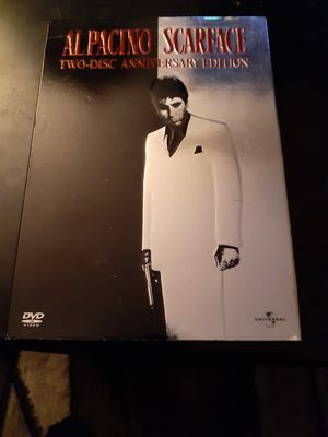 Al Pacino scarface 2 disc anniversary edition in perfect condition for Sale in Indianapolis, IN