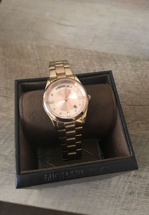 Michael Kors rose gold watch for Sale in Raleigh, NC