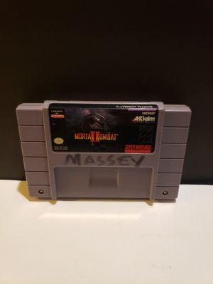 Super Nintendo SNES Mortal Kombat 2 for Sale in Reinholds, PA