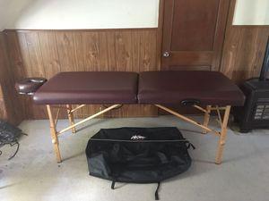 Massage table for Sale in Wichita, KS
