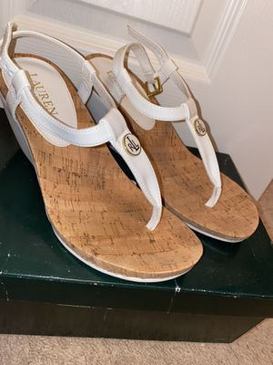 Ralph Lauren wedge heels for Sale in Bartow, FL