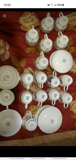 Tea cups from Queens china & other for Sale in Aberdeen, MD