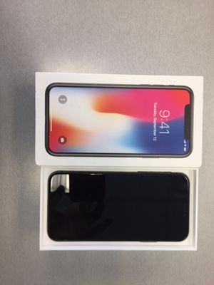 iPhone X 64 gb unlocked for Sale in Silver Spring, MD