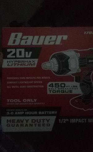 Bauer impact drill for Sale in Evansville, IN