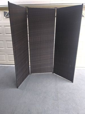 Outdoor patio privacy screen for Sale in Los Angeles, CA