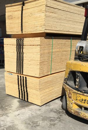 50 sheet minimum. All size(s) building wood. Plywood $10, every size. for Sale in Biloxi, MS