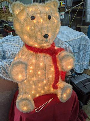 Lighted Teddy Bear for Sale in Cumming, GA