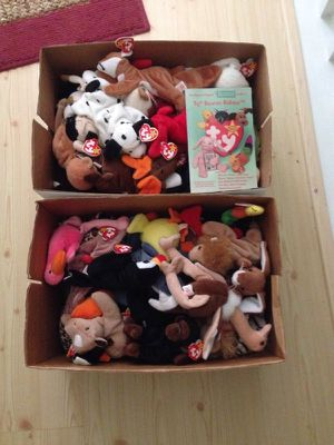 Original beanie babies - make me a reasonable offer for Sale in Cary, NC