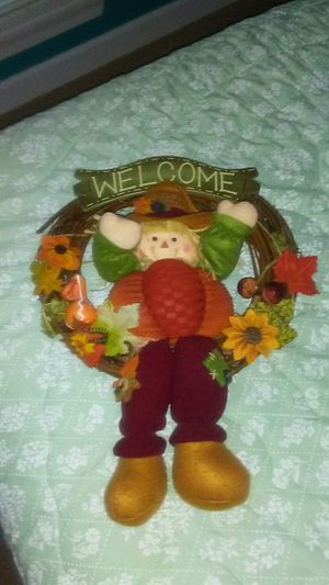 Fall Welcome Wreath for Sale in Belden, MS