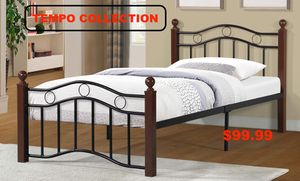 Metal Platform Bed, Twin ,7573 for Sale in Downey, CA