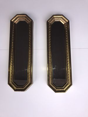 Gold mirrors wall decor for Sale in Greenville, SC