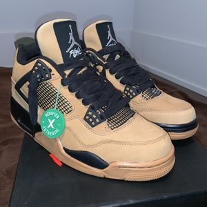 Travis Scott Jordan 4 Wheat - DS ( Size 8.5, euro 42) for Sale in St. Louis, MO