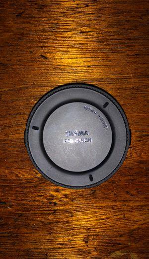 Sigma MC-11 lens converter for Canon lenses for Sale in Kaneohe, HI