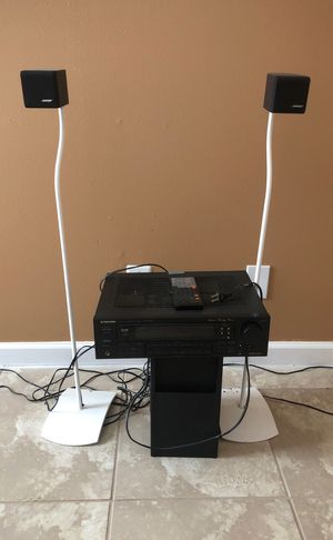 Bose speaker and pioneer receiver for Sale in Port St. Lucie, FL