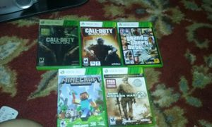 Xbox Games, xbox controller charges for Sale in Durham, NC