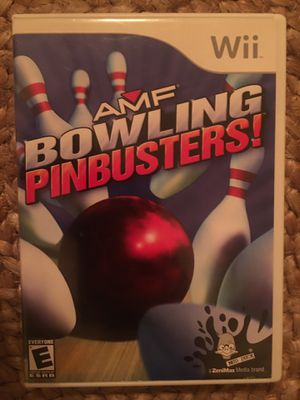 Nintendo Wii bowling pin busters for Sale in Visalia, CA