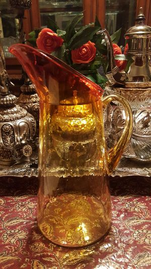 Antique water pitcher with eagle and stars for Sale in Portland, OR