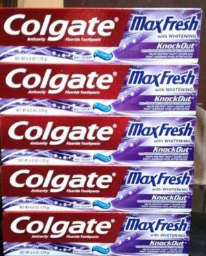Colgate Maxfresh 5 for $10 for Sale in Gardena, CA