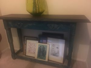 Distressed Console table for Sale in Severn, MD