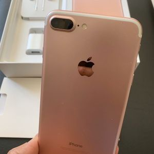 """iPhone 7 Plus 128GB FACTORY UNLOCKED"""" Like new with warranty for Sale in Silver Spring, MD"""