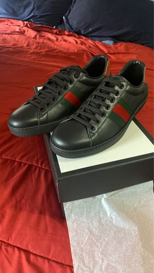 Gucci aces sneakers Blk Size 11 for Sale in New York, NY
