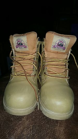 Work boots for Sale in Tewksbury, MA