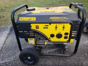 Champion generator for Sale in Cypress Gardens, FL