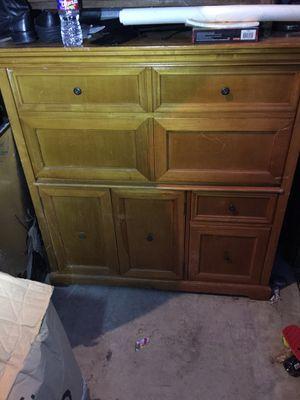 Solid wood desk - multi purpose for Sale in Dallas, TX