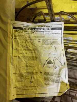 Junior Domed Tent..never used! for Sale in Manchester, CT