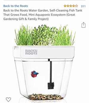 Self cleaning fish tank for Sale in San Diego, CA
