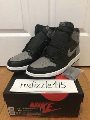 DS sz. 13 2018 Jordan 1 OG High Shadow for Sale in San Francisco, CA