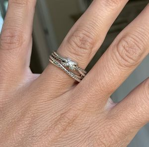 David Yurman x Collection Ring with Diamonds size 5.5 for Sale in Haverhill, MA