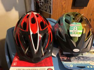 2 Helmet 1 for adult and 1 for girl 8 years for Sale in Cicero, IL