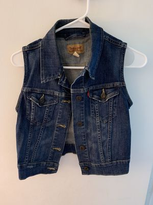 Levi Jean Jacket Vest for Sale in Tampa, FL