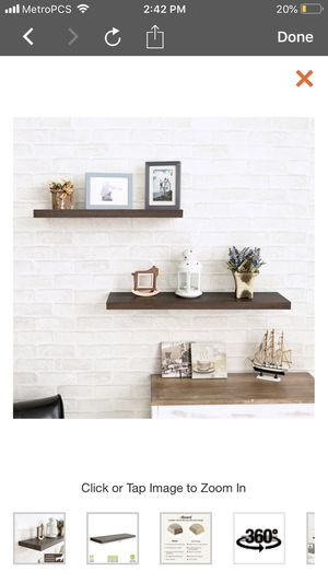 New floating shelves $15 each for Sale in Las Vegas, NV