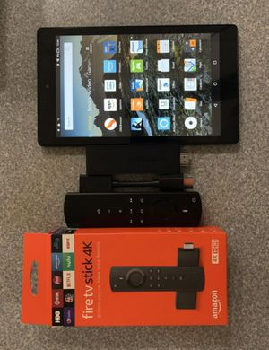Amazon Fire TV Stick 4K and Fire Tablet 8 HD for Sale in Philadelphia, PA